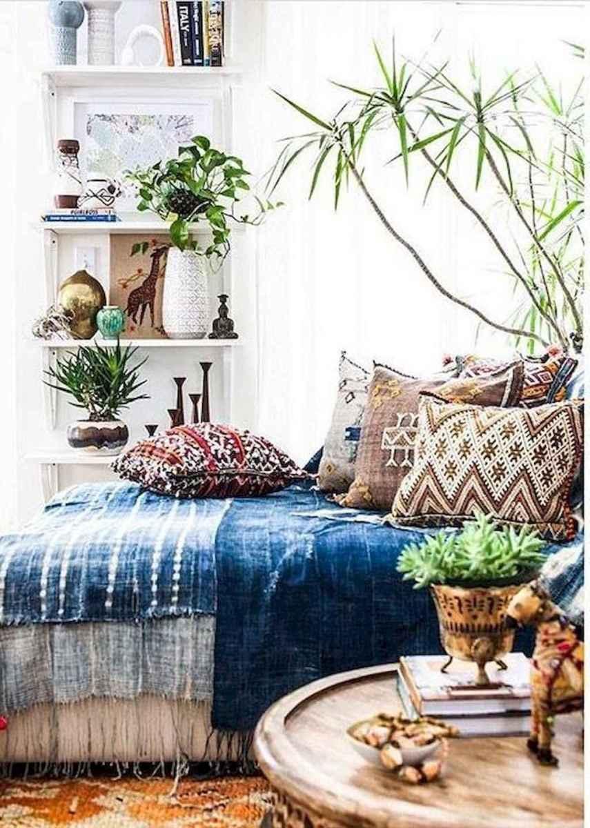 Bohemian style modern bedroom ideas (6)