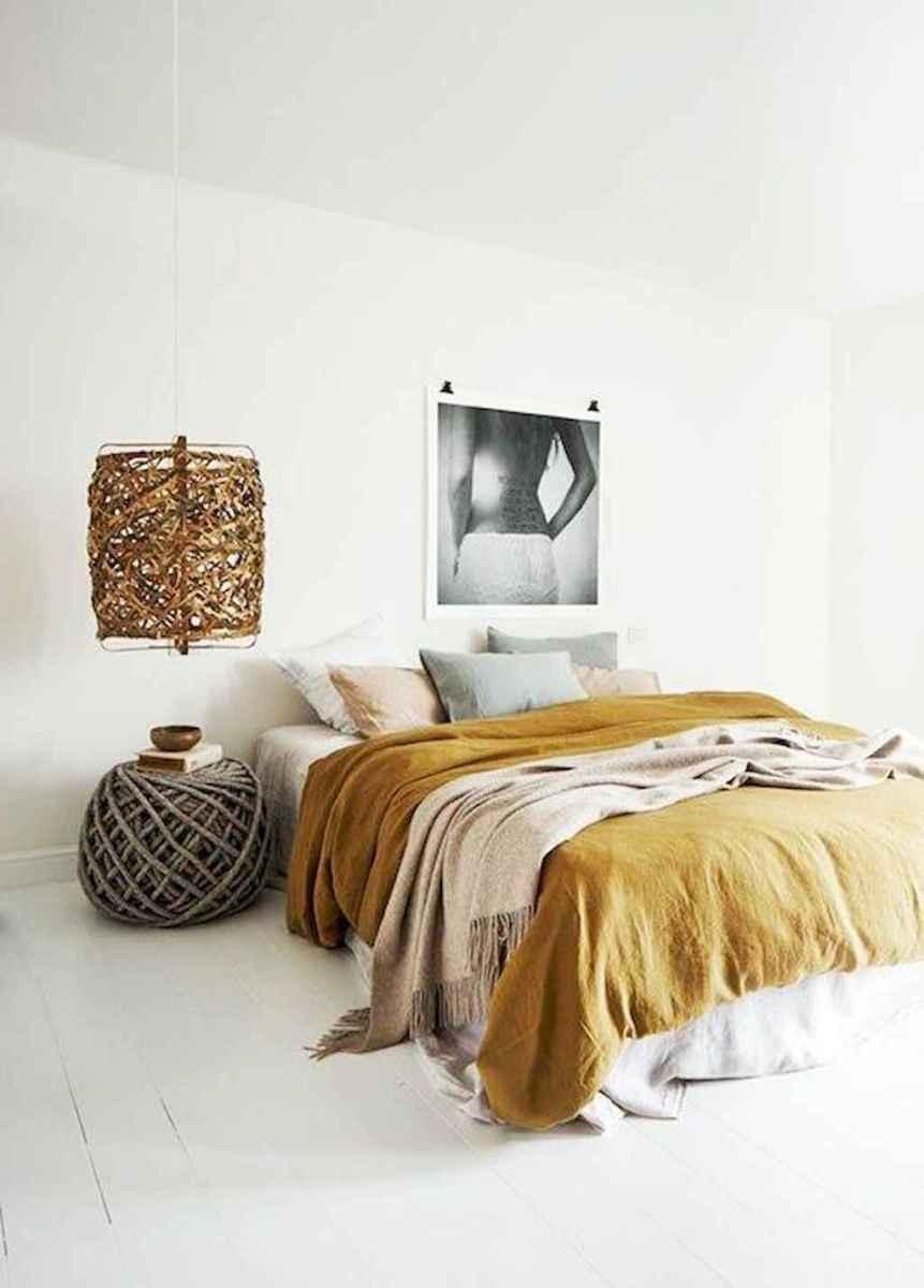 Bohemian style modern bedroom ideas (66)