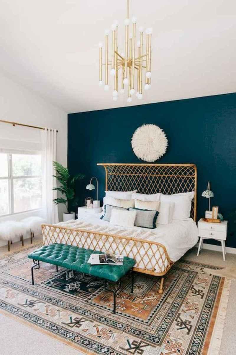 Bohemian style modern bedroom ideas (73)