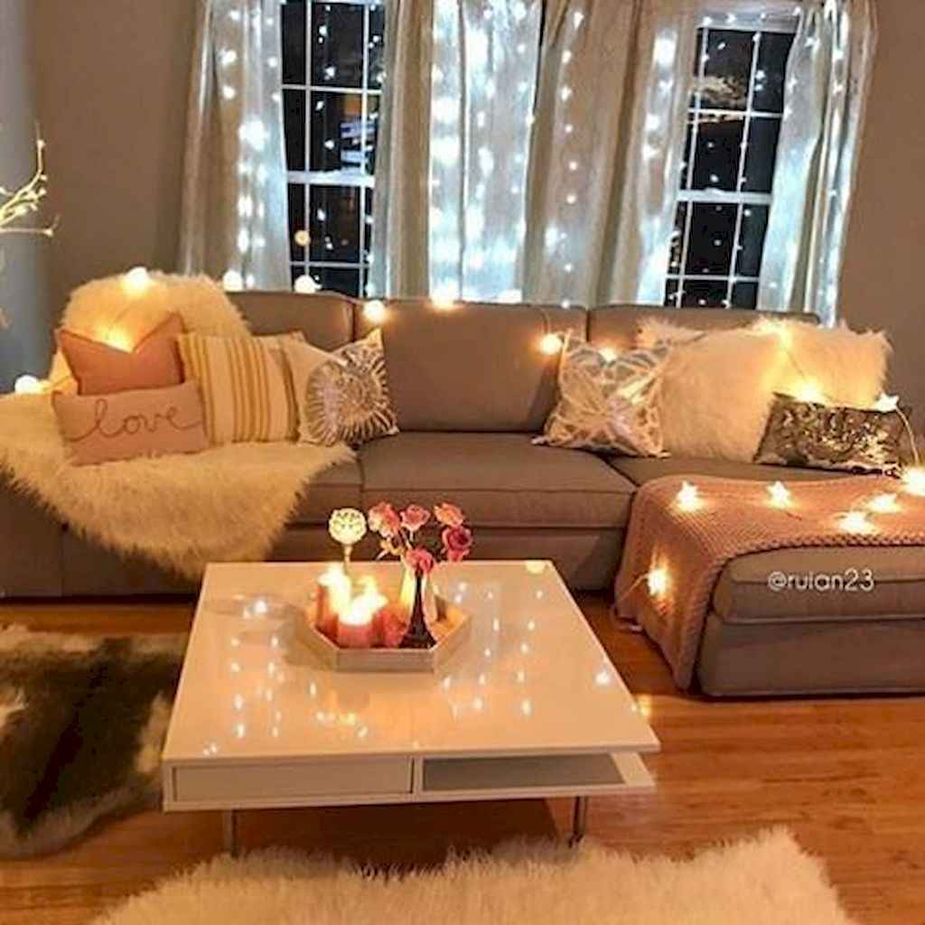 Cozy apartment decorating ideas on a budget (80)