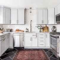 Gorgeous gray kitchen cabinet makeover ideas (10)