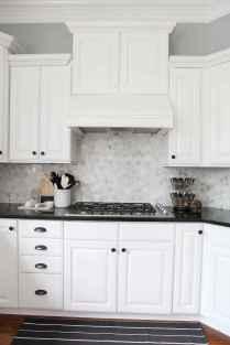 Gorgeous gray kitchen cabinet makeover ideas (22)