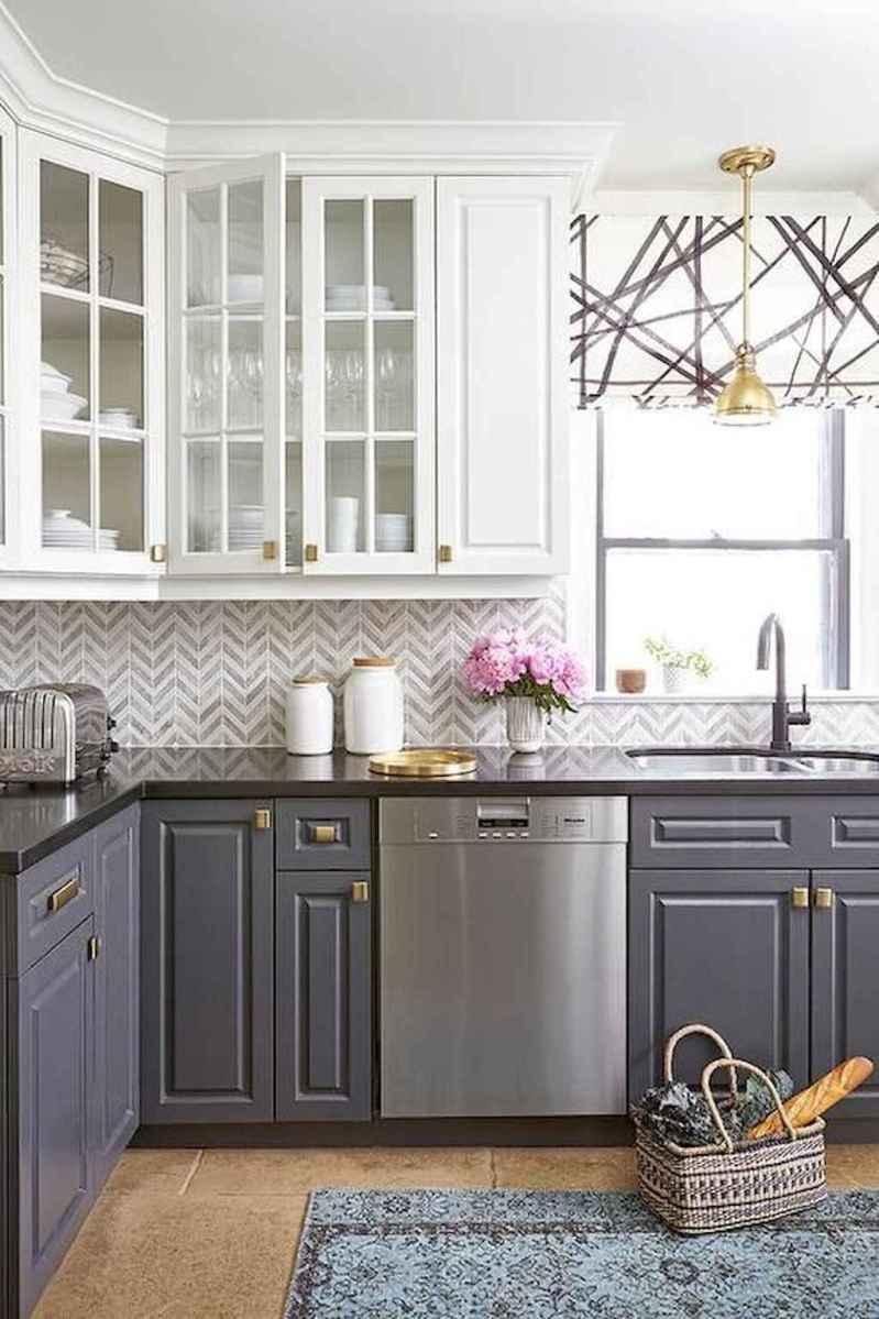 Gorgeous gray kitchen cabinet makeover ideas (46 ...