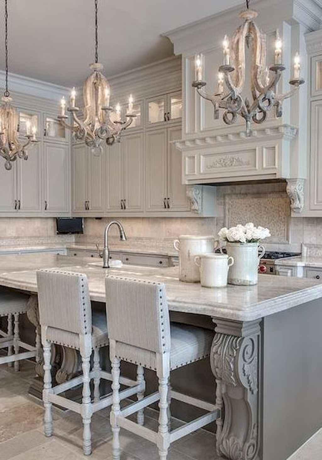 Gorgeous gray kitchen cabinet makeover ideas (49)