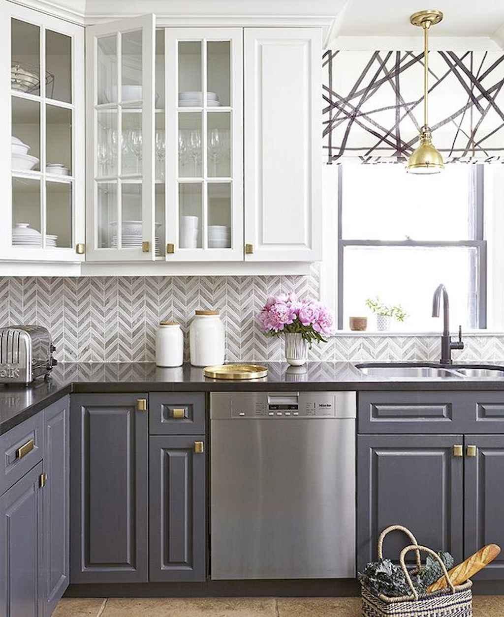 24 Grey Kitchen Cabinets Designs Decorating Ideas: 85 Gorgeous Gray Kitchen Cabinet Design Ideas