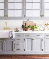 Gorgeous gray kitchen cabinet makeover ideas (7)