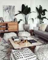Modern bohemian living room decor ideas (2)