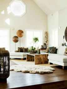 Modern bohemian living room decor ideas (22)
