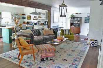 Modern bohemian living room decor ideas (28)