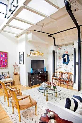 Modern bohemian living room decor ideas (34)