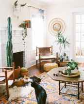Modern bohemian living room decor ideas (37)