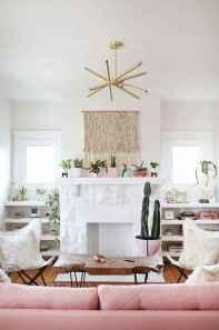 Modern bohemian living room decor ideas (56)