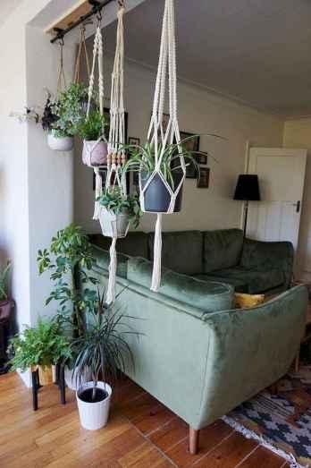 Modern bohemian living room decor ideas (63)