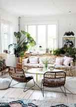 Modern bohemian living room decor ideas (66)