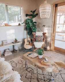 Modern bohemian living room decor ideas (70)