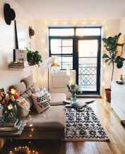 Modern bohemian living room decor ideas (75)