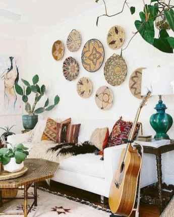 Modern bohemian living room decor ideas (77)