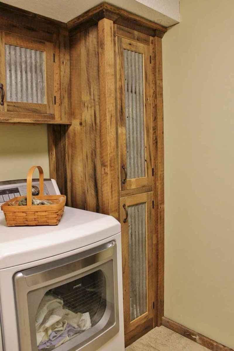 Modern farmhouse laundry room ideas (21)