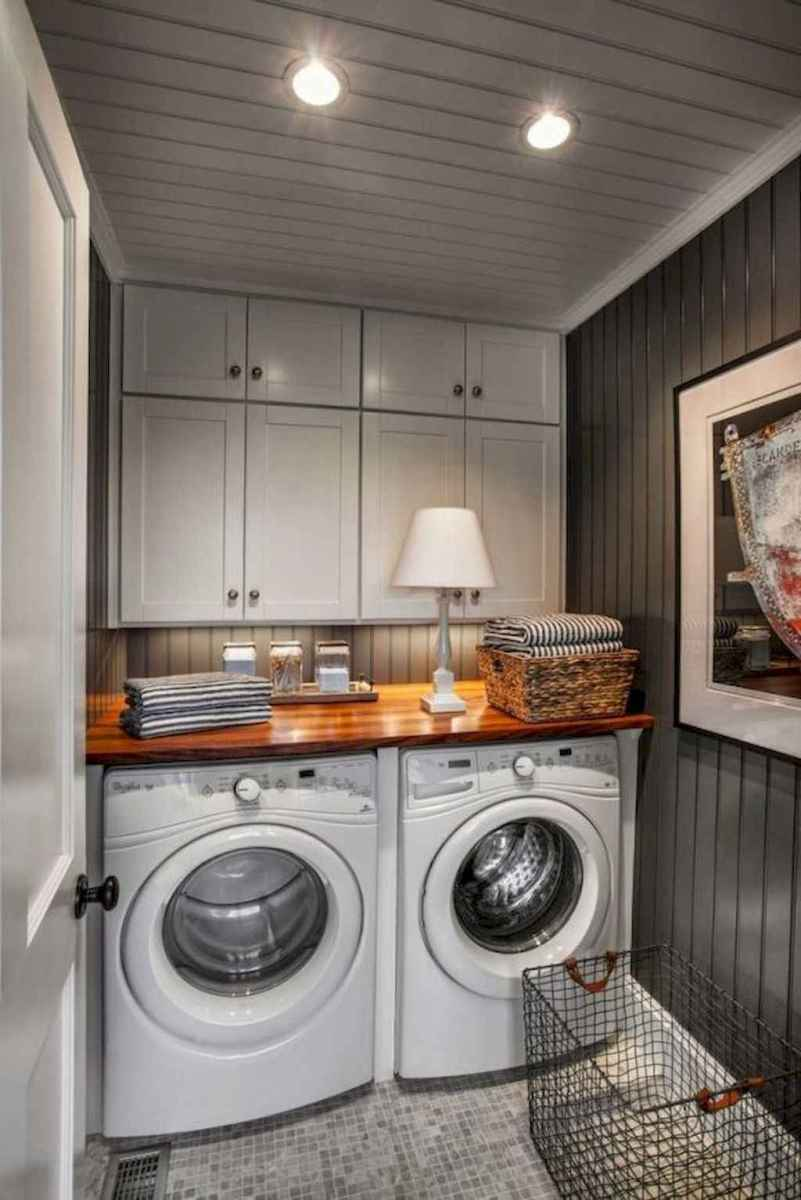 Modern farmhouse laundry room ideas (29)