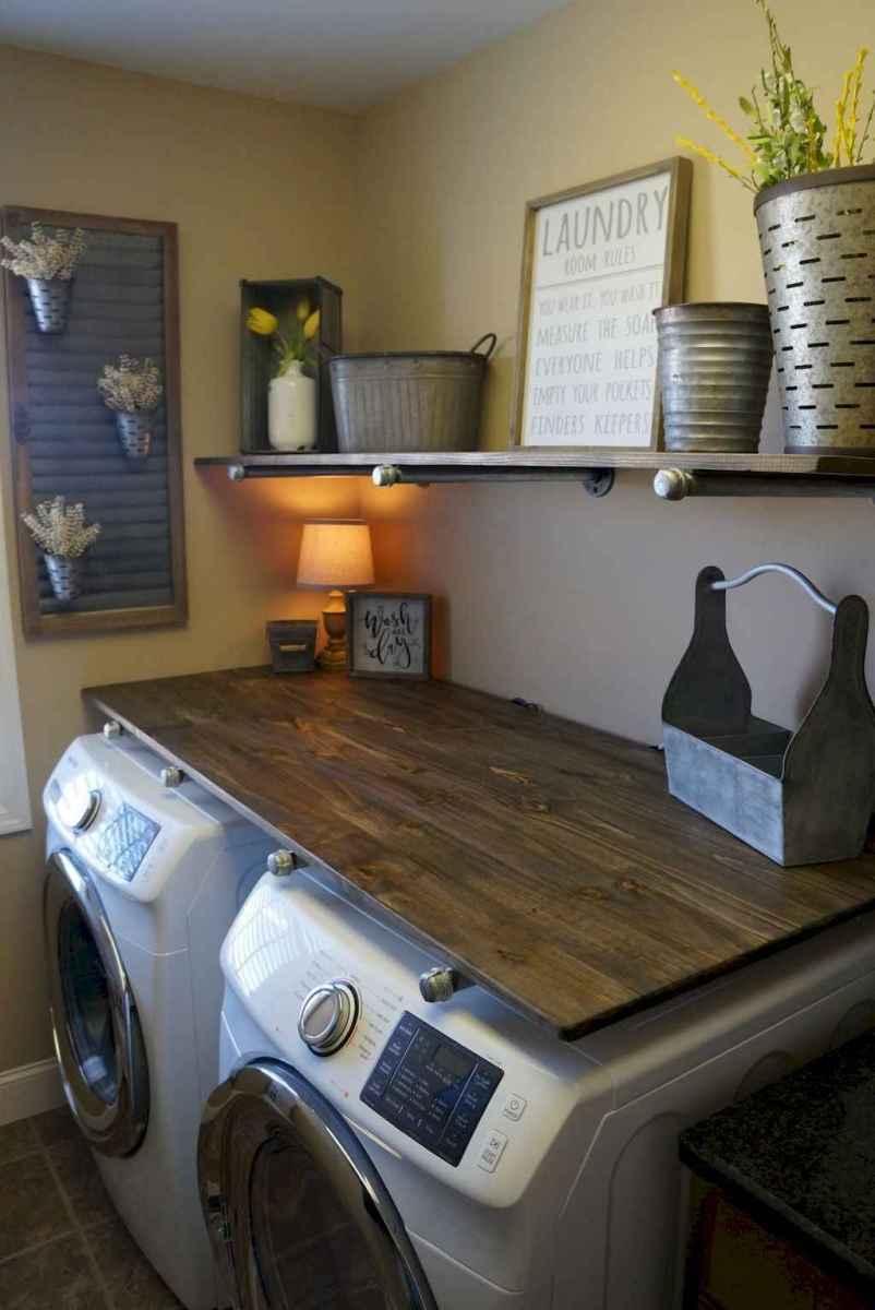 Modern farmhouse laundry room ideas (32)