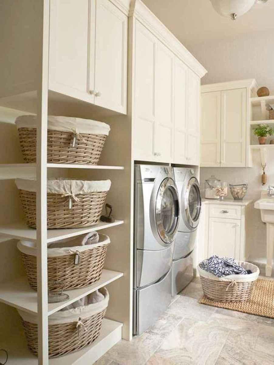 Modern farmhouse laundry room ideas (48)