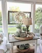 Rustic modern farmhouse living room decor ideas (19)