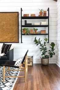 Rustic modern farmhouse living room decor ideas (31)