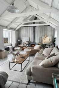 Rustic modern farmhouse living room decor ideas (32)