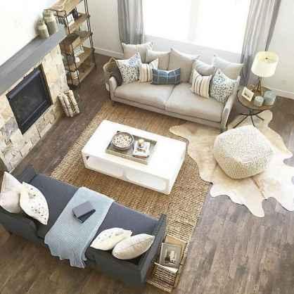 Rustic modern farmhouse living room decor ideas (40)