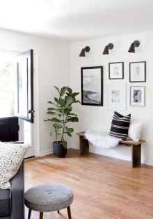 Rustic modern farmhouse living room decor ideas (50)
