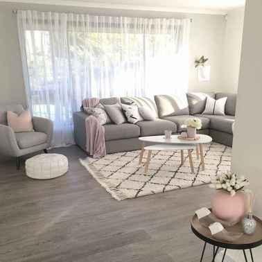 Rustic modern farmhouse living room decor ideas (55)