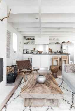 Rustic modern farmhouse living room decor ideas (56)