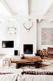 Rustic modern farmhouse living room decor ideas (64)