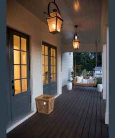 06 modern farmhouse front porch decorating ideas
