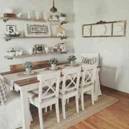 07 best farmhouse dining room makeover decor ideas