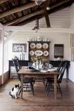 09 best farmhouse dining room makeover decor ideas