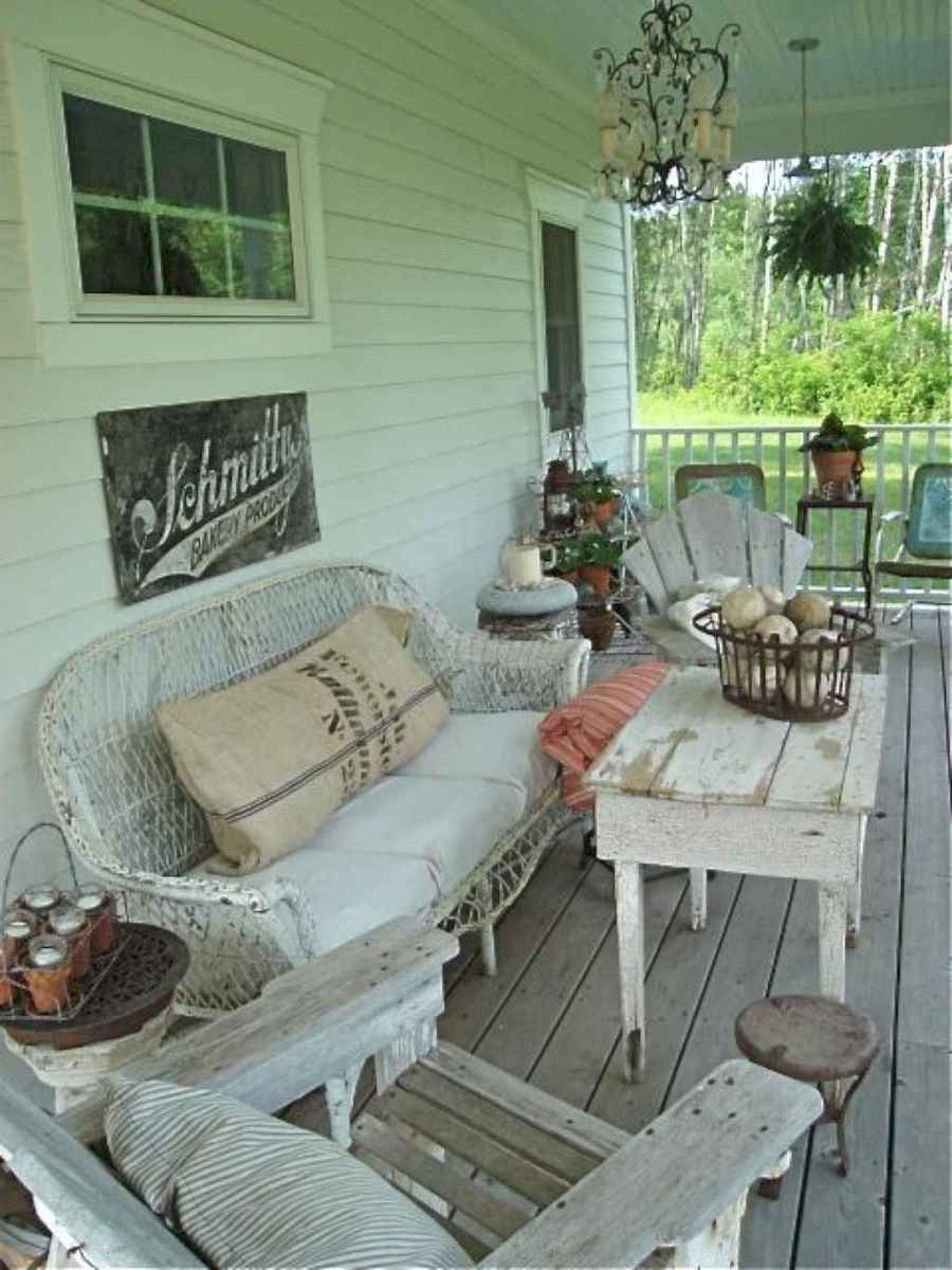 21 modern farmhouse front porch decorating ideas