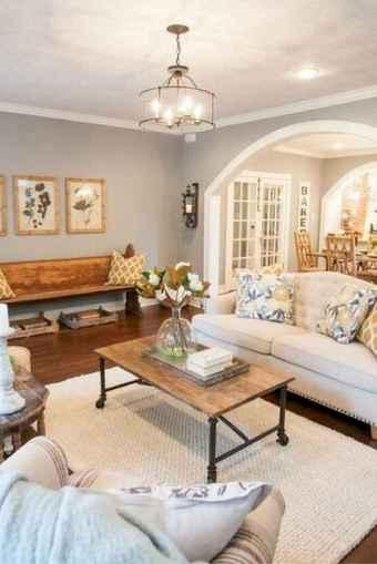 25 cozy modern farmhouse living room decor ideas