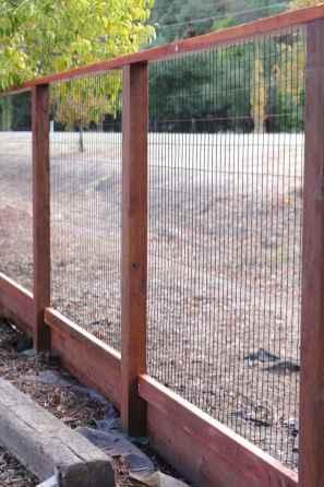 25 easy cheap backyard privacy fence design ideas