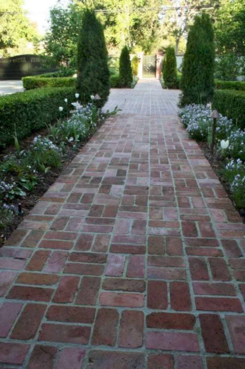 32 simple and beautiful front yard pathways landscaping ideas