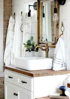38 best farmhouse bathroom remodel decor ideas
