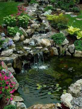 43 awesome backyard ponds and water garden landscaping ideas