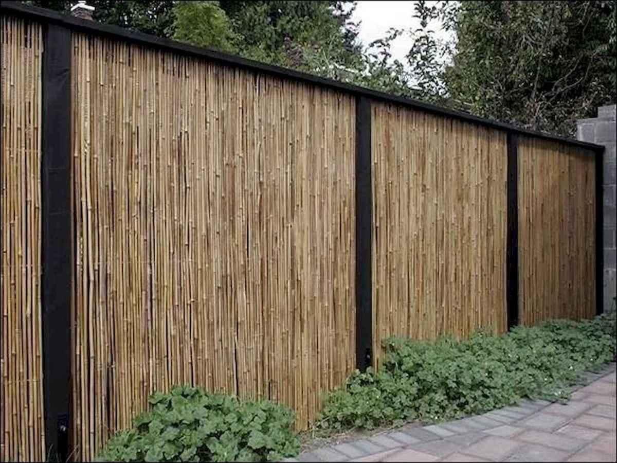 44 easy cheap backyard privacy fence design ideas