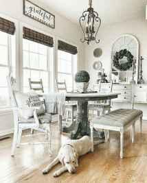 45 best farmhouse dining room makeover decor ideas