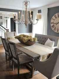 46 best farmhouse dining room makeover decor ideas