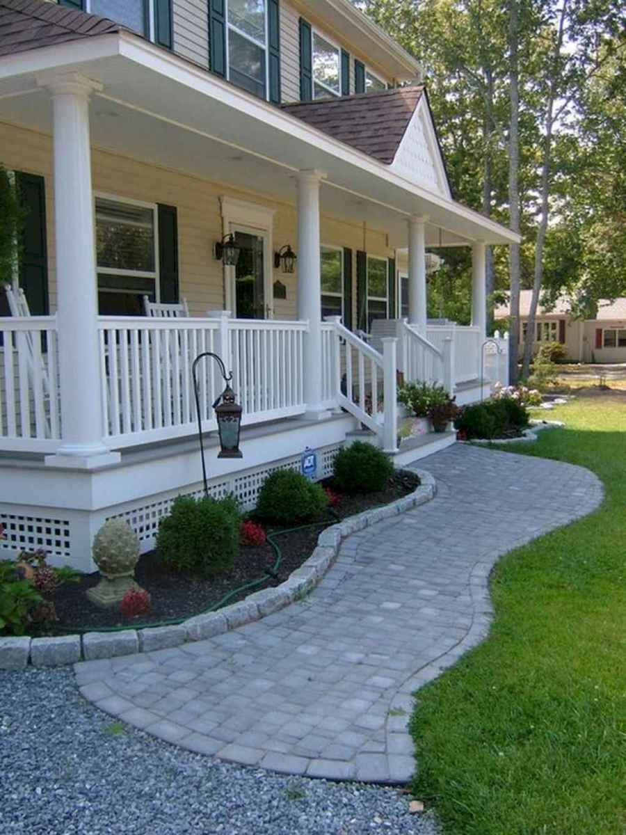 46 simple and beautiful front yard pathways landscaping ideas