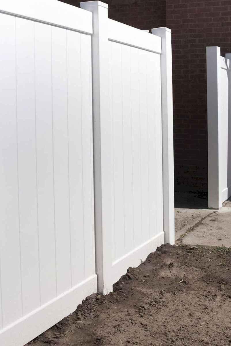47 easy cheap backyard privacy fence design ideas