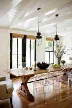 48 best farmhouse dining room makeover decor ideas