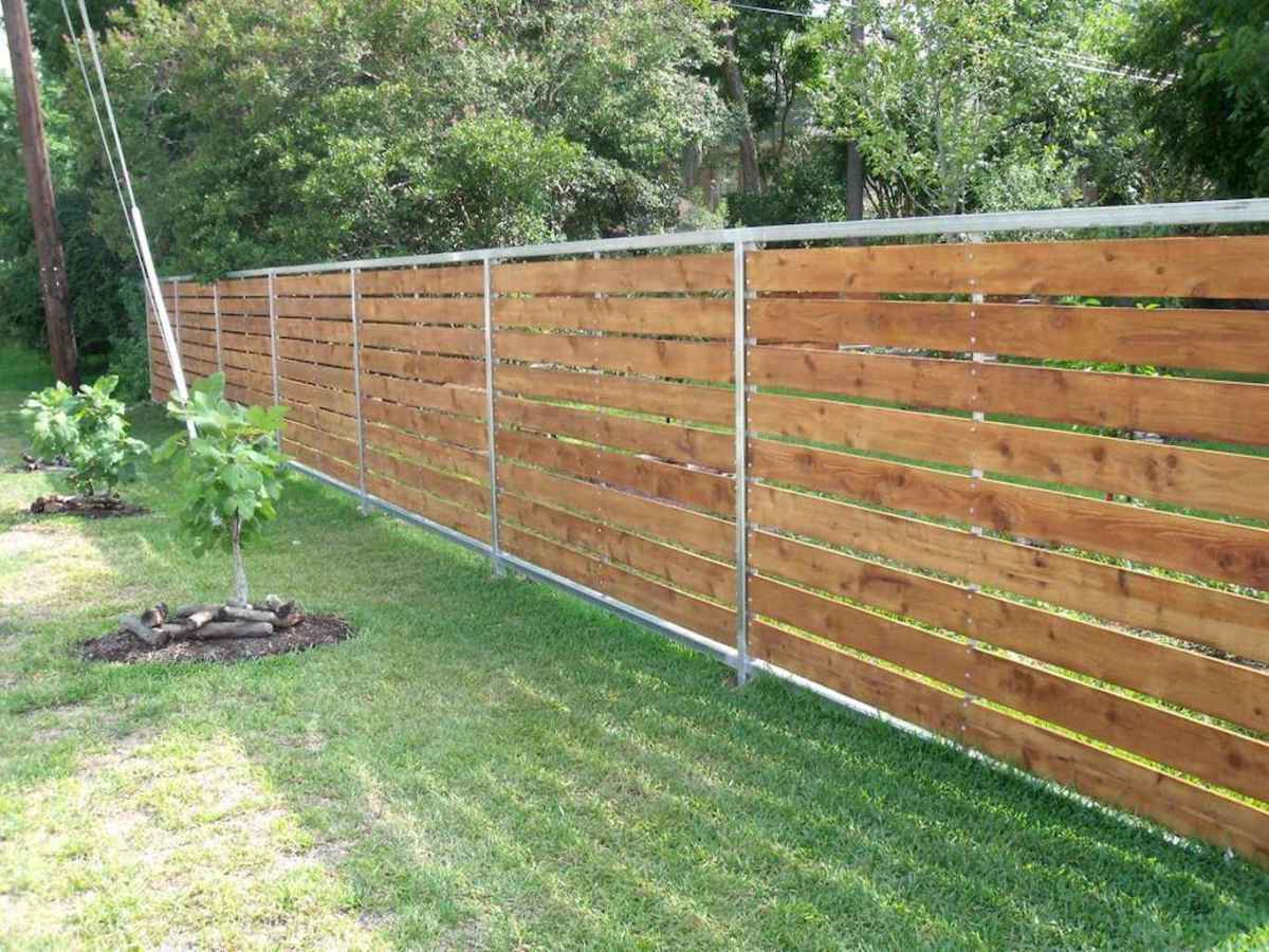 48 easy cheap backyard privacy fence design ideas