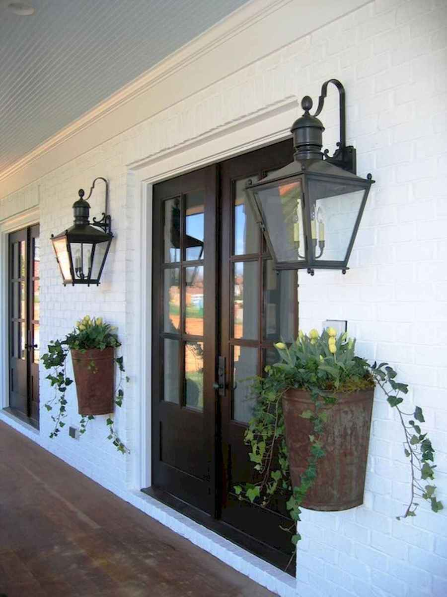 51 modern farmhouse front porch decorating ideas